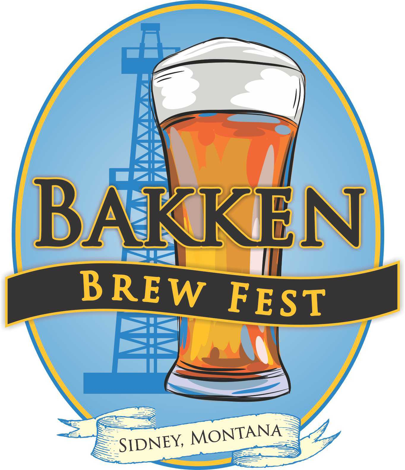 Bakken Brewfest Logo
