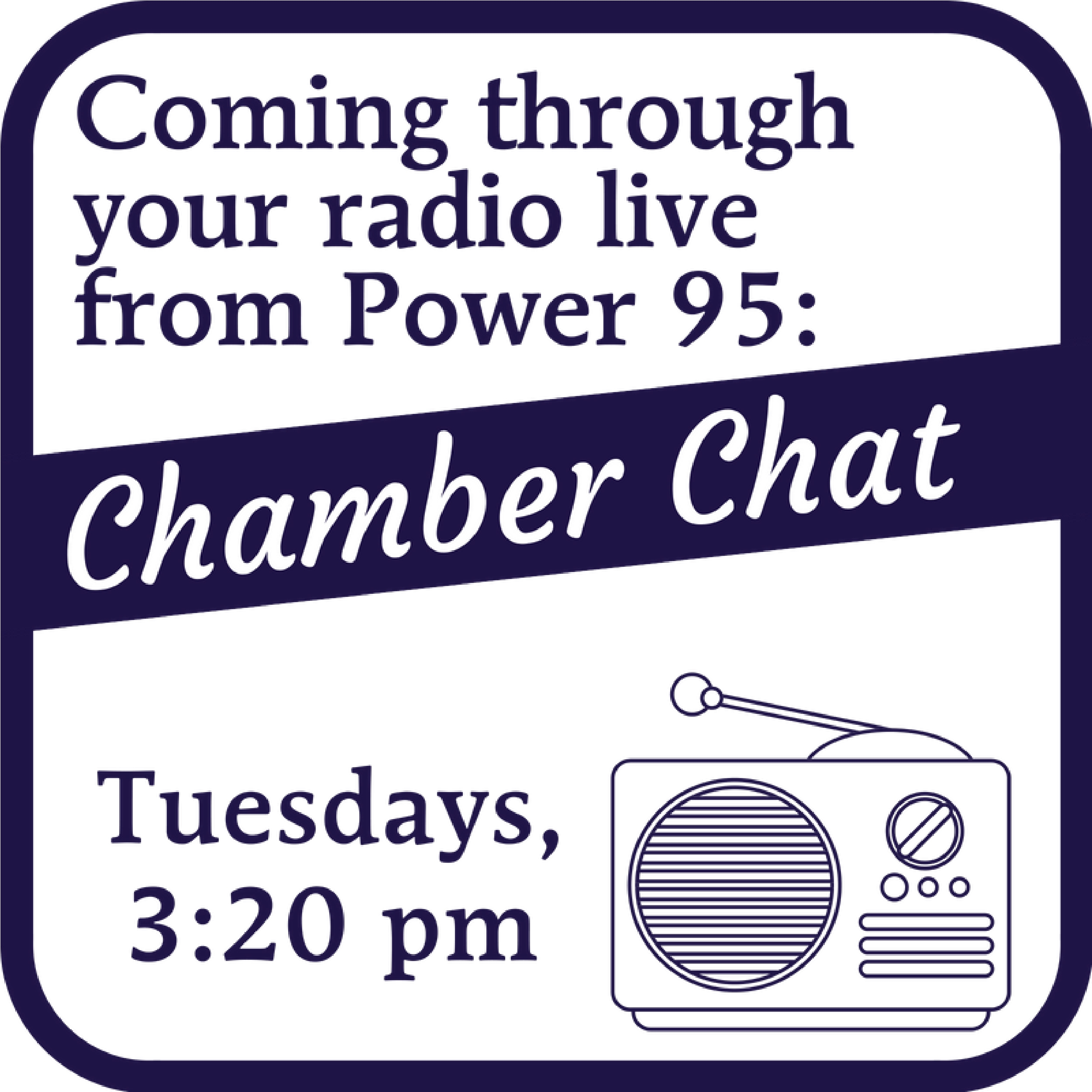 Chamber Chat Graphic