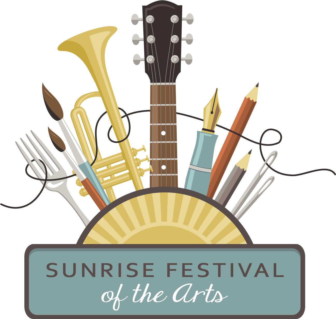 Sunrise Festival Of The Arts Logo Crop